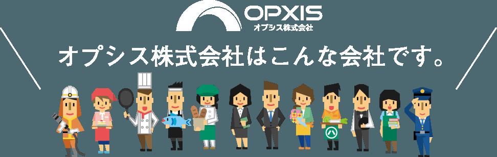 オプシス株式会社はこんな会社です。